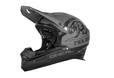 casque integral oneal fury rl california noir gris xs 53 54 cm