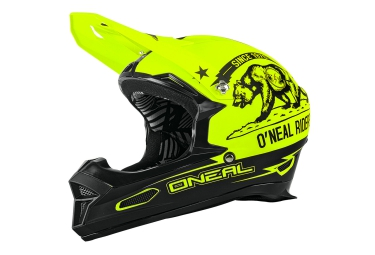 casque integral oneal fury rl california jaune noir l 59 60 cm