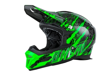 ONEAL FURY RL MERCURY Full Face Helmet 2016 Green Black