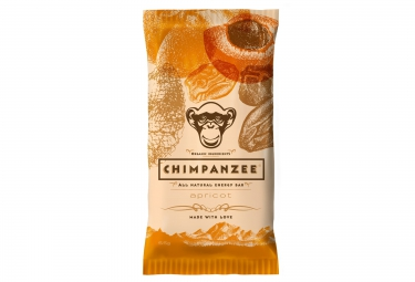 chimpanzee barre energetique 100 naturelle abricot 55g vegetalien