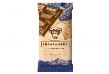 Chimpanzee barre energetique 100 naturelle dattes et chocolat 55g vegetalien