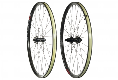 paire de roues asterion carbon sport am 27 5 boost 15x110 12x148mm corps sram xd tl