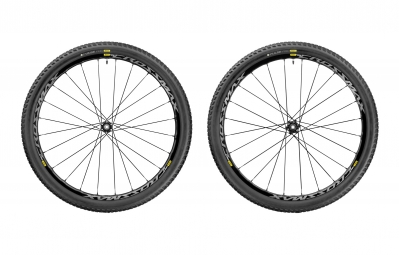 paire de roues mavic 2017 crossmax elite wts 29 boost 15x110 mm 12x148 mm corps xd pulse 2 25