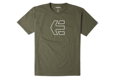 T-Shirt ETNIES ICON OUTLINE Vert