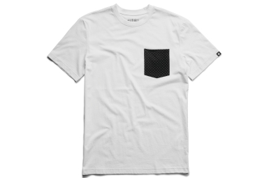 t shirt etnies operator pocket blanc xl