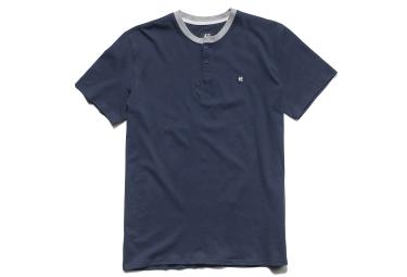 T-Shirt ETNIES TRANSFER HENLEY Bleu