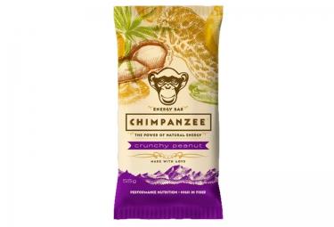 CHIMPANZEE Barre Energétique 100% naturelle Crunchy Cacahuète 55g VEGETALIEN