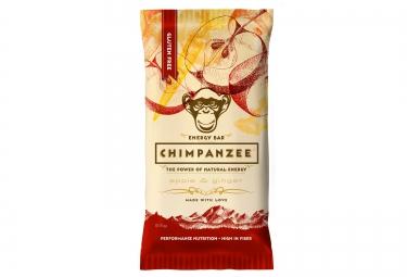 CHIMPANZEE Barre Energétique 100% naturelle Pomme Gingembre 55g SANS GLUTEN