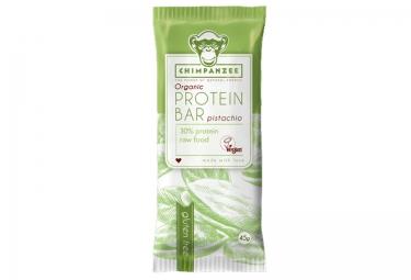 CHIMPANZEE Protein Bar 100% Natural Pistacho 45g SIN GLUTEN
