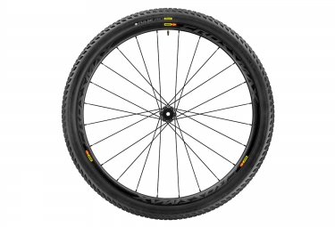 roue avant mavic 2017 crossmax pro carbon wts 29 boost 15x110 mm pneu pulse 2 25