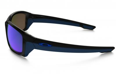 lunettes oakley straightlink noir bleu iridium ref oo9331 04