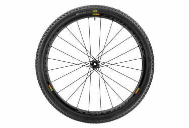 Roue avant mavic crossmax pro carbon wts 27 5 15 mm pneu pulse 2 25