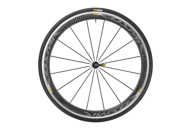 Front Wheel MAVIC Cosmic Pro Carbon Black - Yksion Pro 25mm