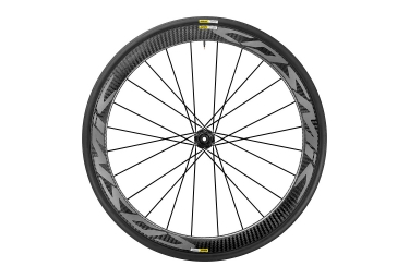 roue avant mavic 2017 cosmic pro carbon disc centerlock 12x100 yksion pro 25mm