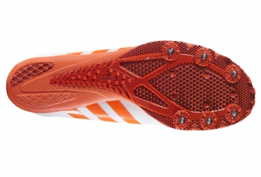 adidas running adizero ambition 3 blanc orange homme 46