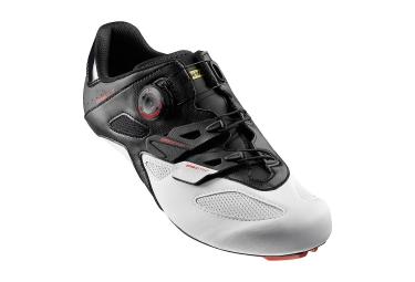 paire de chaussures route mavic cosmic elite 2017 noir blanc 43 1 3