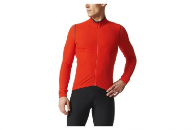 maillot manches longues adidas cycling rompighiaccio orange s