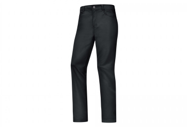 pantalon coupe vent gore bike wear element urban windstopper noir l