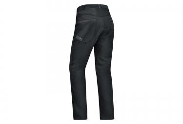 pantalon coupe vent gore bike wear element urban windstopper noir l