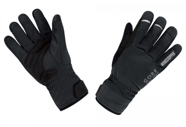 gants hiver gore bike wear universal windstopper noir xxl