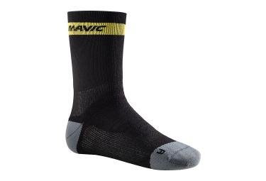 paire de chaussettes mavic ksyrium elite thermo 2017 noir 35 38