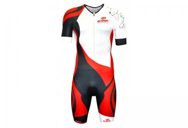 Image of Combinaison trifonction bv sport tri 3x200 blanc noir rouge m
