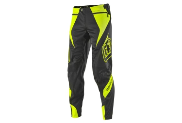 Troy lee designs pantalon sprint reflex jaune gris 36