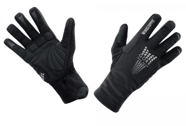 Gants Hiver GORE BIKE WEAR XENON WINDSTOPPER Thermo Noir