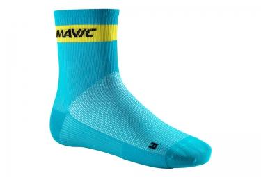paire de chaussettes mavic cosmic medium bleu 2017 35 38