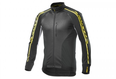 Veste coupe vent mavic cosmic elite thermo noir blanc 2017 m