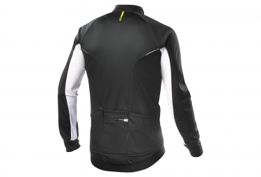 veste coupe vent mavic cosmic elite thermo noir blanc 2017 xl