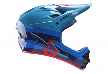 661 sixsixone casque integral comp bleu rouge 2017 xl 60 62 cm