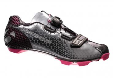 chaussures vtt femme bontrager tinari gris rose 39