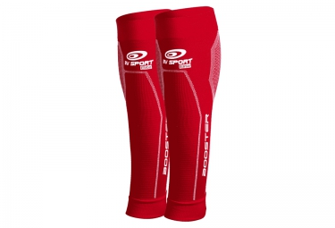 Manchons de Compression Mollet BV SPORT BOOSTER ELITE Rouge