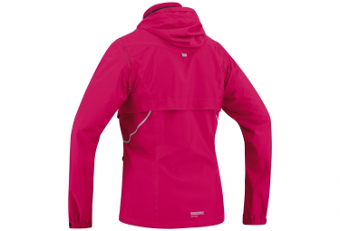 veste coupe vent gore running wear essential lady 2 0 windstopper active rose 32