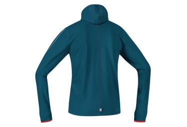GORE RUNNING WEAR Hoodie Jersey ESSENTIAL Blue