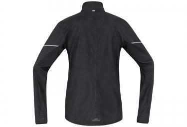 veste coupe vent gore running wear essential windstopper noir m