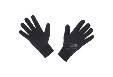 Paire de Gants GORE RUNNING WEAR ESSENTIAL Noir