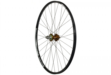 hope roue arriere xc pro 4 29 32 rayons axe 9x135mm sram xd orange