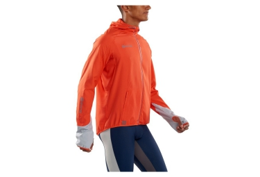 veste repliable skins plus orange xl