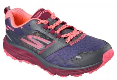 Chaussures de Trail Femme Skechers GO TRAIL Violet / Rose