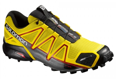 salomon speedcross 4 climashield jaune noir 46 2 3