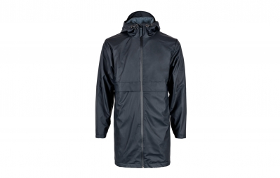 veste impermeable rains thermal collection mile bleu l xl
