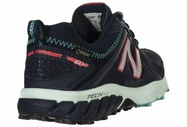 Chaussures de Trail Femme New Balance TRAIL 610 V5 Noir / Bleu
