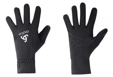 paire de gants hiver odlo jogger 2 0 noir xs