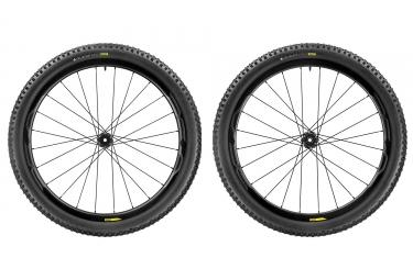 paire de roues mavic 2017 xa pro carbon wts 29 boost 15x110mm 12x148mm shimano sram