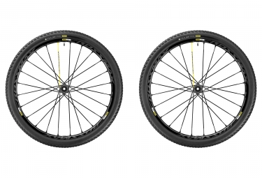 Paire de Roues MAVIC 2017 Crossmax Pro WTS 27.5 | Boost 15x110 mm | 12x148 mm | Corps XD | Pneu Pulse 2.25