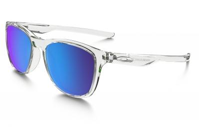 lunettes oakley trillbe x transparent bleu iridium polarise ref oo9340 05