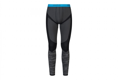 collant long odlo blackcomb evolution warm gris noir m