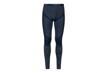 collant long odlo blackcomb evolution warm bleu m
